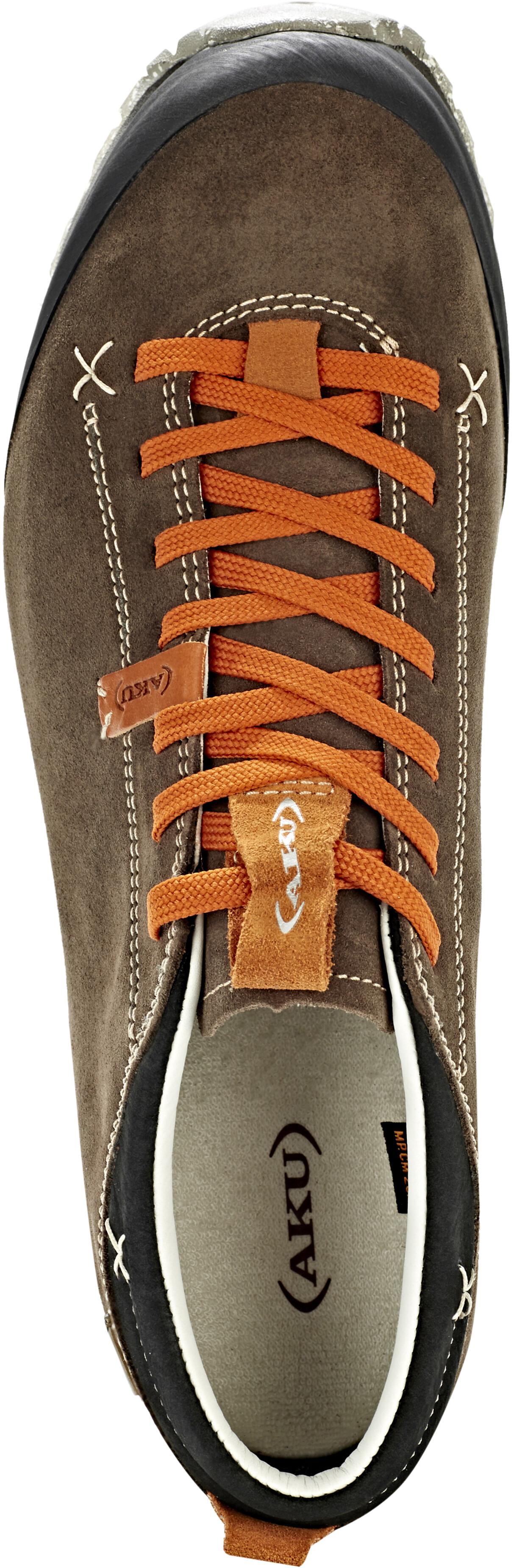 AKU Bellamont Suede GTX Shoes orange brown at Addnature.co.uk 1c7677aa0168